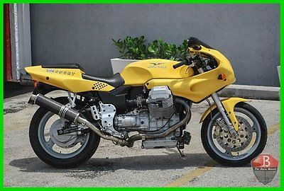 Moto Guzzi : 1100 Sport 1997 moto guzzi 1100 sport le mans italian exotic motorcycle beautiful bike