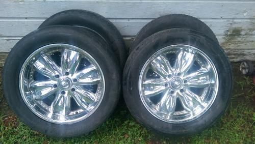 Yokohama tires and rims for sale.