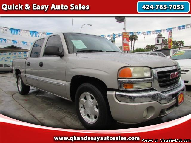 AS LOW AS $500 DOWN! (O.A.C) 2005 GMC Sierra 1500