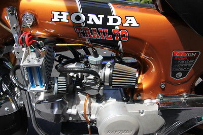 Honda : CT 1971 honda ct 70 based hotrod
