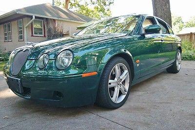 Jaguar : S-Type R Sedan 4-Door 2006 jaguar s type r sedan 4 door supercharged 4.2 v 8 rocketship