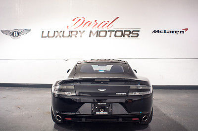 Aston Martin : Other Rapide Black on black Aston Martin Rapide