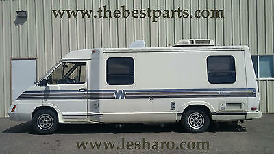 1990 Winnebago LeSharo with Chrysler conversion.  3.3 liter V-6   18-MPG