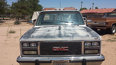 GMC : Other TOW TRUCK 1983 gmc 1 ton dually tow truck for parts only