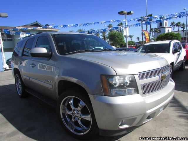 AS LOW AS $500 DOWN! (O.A.C) 2007 Chevrolet Tahoe 1500 -