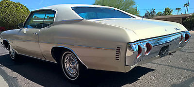 Chevrolet : Chevelle Malibu 1971 chevelle malibu 2 door coupe 2 owner car arizona rust free car