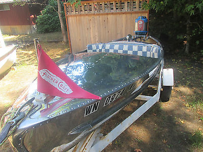 1948 Feathercraft Racing boat 11' 7