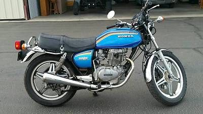 Honda : CB Honda Hawk II CB400T