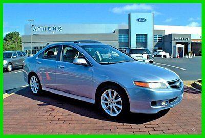 Acura : TSX Base Sedan 4-Door 2007 used 2.4 l i 4 16 v automatic fwd sedan moonroof premium