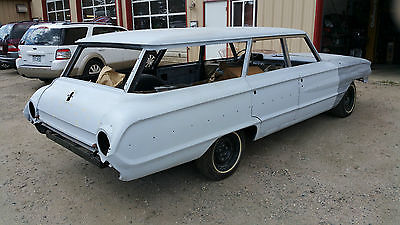 Ford : Galaxie Country Sedan 1964 ford 6 passinger country sedan frame off restoration with 390 motor and c 6