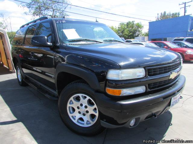 AS LOW AS $500 DOWN! (O.A.C) 2004 Chevrolet Suburban 1500