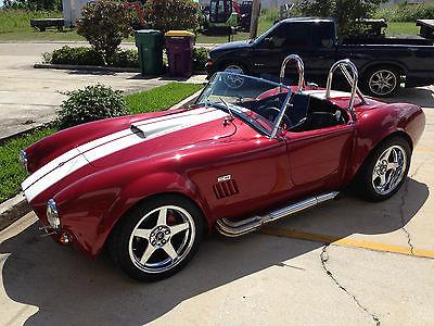 Shelby : Cobra Factory Five MKIV 2 Door convertible Shelby Cobra Factory Five MKIV