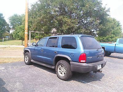 Dodge : Durango SXT Sport Utility 4-Door Up for sale is a great Didge Durango. 2003. Sky Blue. 123,XXX Miles.
