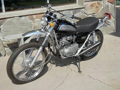Honda : Other 1971 honda sl 350 black
