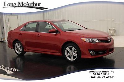 Toyota : Camry SE Certified 23K Low Miles 1 Owner Automatic SE Certified 2.5 I4 Bluetooth Alloy Wheels Cruise