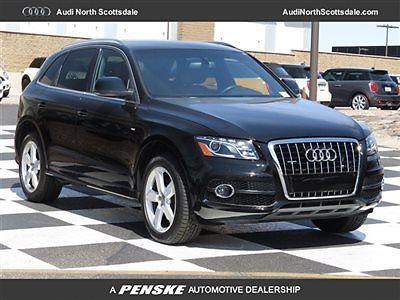 Audi : Q5 V6 Quattro Navigation Premium Plus 53 k miles used black 11 audi q 5 s line awd navigation bluetooth ipod cd leather