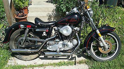 Harley Davidson Sportster 1979 Heritage Nostalgia Xlh Nostalgic 1000 Cc