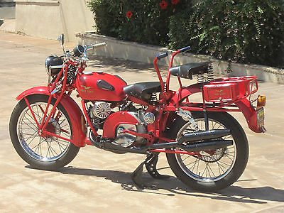Moto Guzzi : Super Alce 1948 moto guzzi super alce 500 cc civilianized military motorcycle