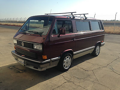 Volkswagen : Bus/Vanagon carat 1990 vangon carat gowesty vw shop maintained clean title two owner very nice