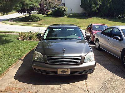 Cadillac : DeVille Base Sedan 4-Door 2003 cadillac deville base sedan 4 door 4.6 l great condition