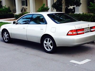 Lexus : ES Luxury Sports Sedan 2000 lexus es 300 excellent condition low miles