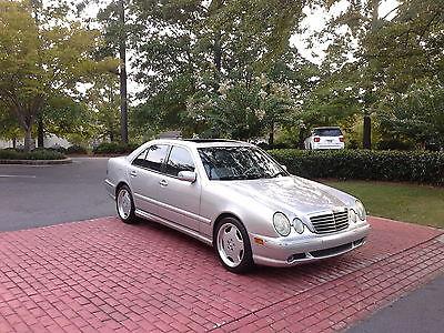 Mercedes-Benz : E-Class e 55 AMG 2001 mercedes e 55 amg only 90 k