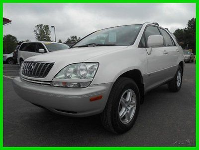 Lexus : RX RX300 LOW MILES SUPER CLEAN ..... WE FINANCE!!!! 2001 300 used 3 l v 6 24 v automatic awd suv premium