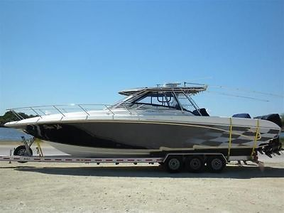 2004 Fountain 38LX Sport Fishing Cruiser Boat - 38 Foot - Compare to Sea Ray