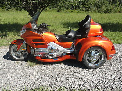 Honda : Gold Wing 2002 honda goldwing gl 1800 w california sidecar s viper conversion kit