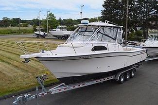 2004 GRADY WHITE 300 MARLIN WA, 30.6FT, TWIN YAM 225 4STROKE,A/C, GEN, W/TRAILER