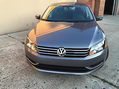 Volkswagen : Passat PASSAT 2015 volkswagen passat low miles tsi gray on black super clean bluetooth