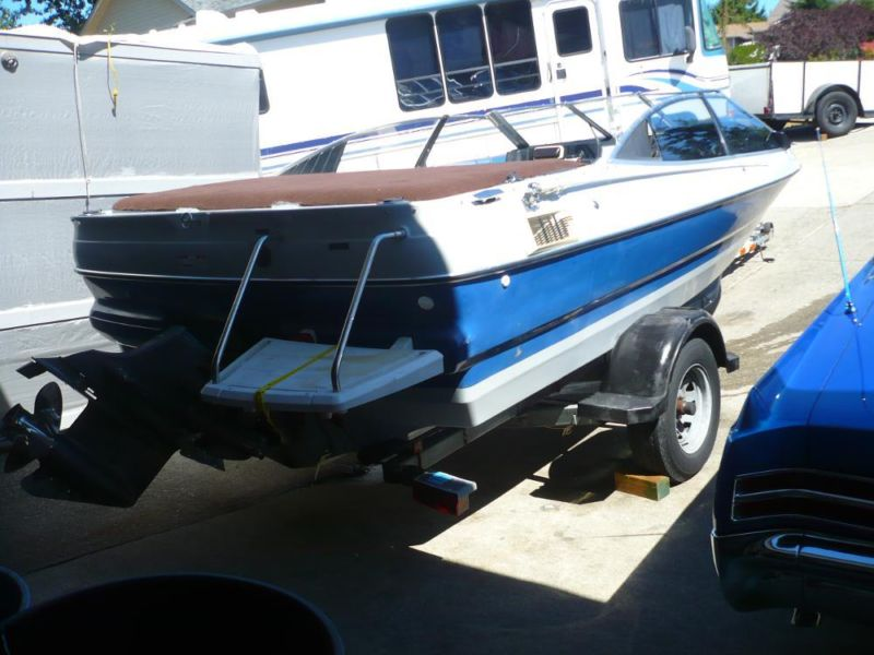 1989 19' Bayliner Boat/Trailer $2950