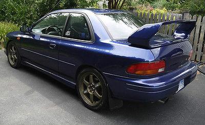 Subaru : Impreza RS 2001 subaru impreza rs 2 door gm 6 turbocharged jdm