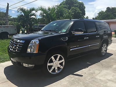2012 cadillac escalade black cars for sale. Black Bedroom Furniture Sets. Home Design Ideas