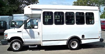 ford e 350 shuttle bus cars for sale. Black Bedroom Furniture Sets. Home Design Ideas