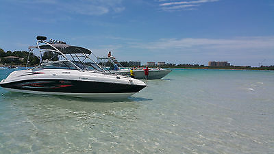 Yamaha jet boat wake tower boats for sale for Yamaha ar230 boat cover