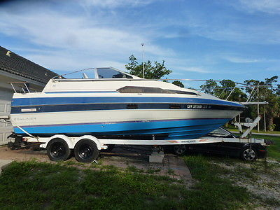 BAYLINER CRUISER, BOAT MOTOR AND TRAILER