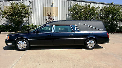 Cadillac : DeVille Eagle 2004 navy blue cadillac eagle hearse very nice and ready for immediate use