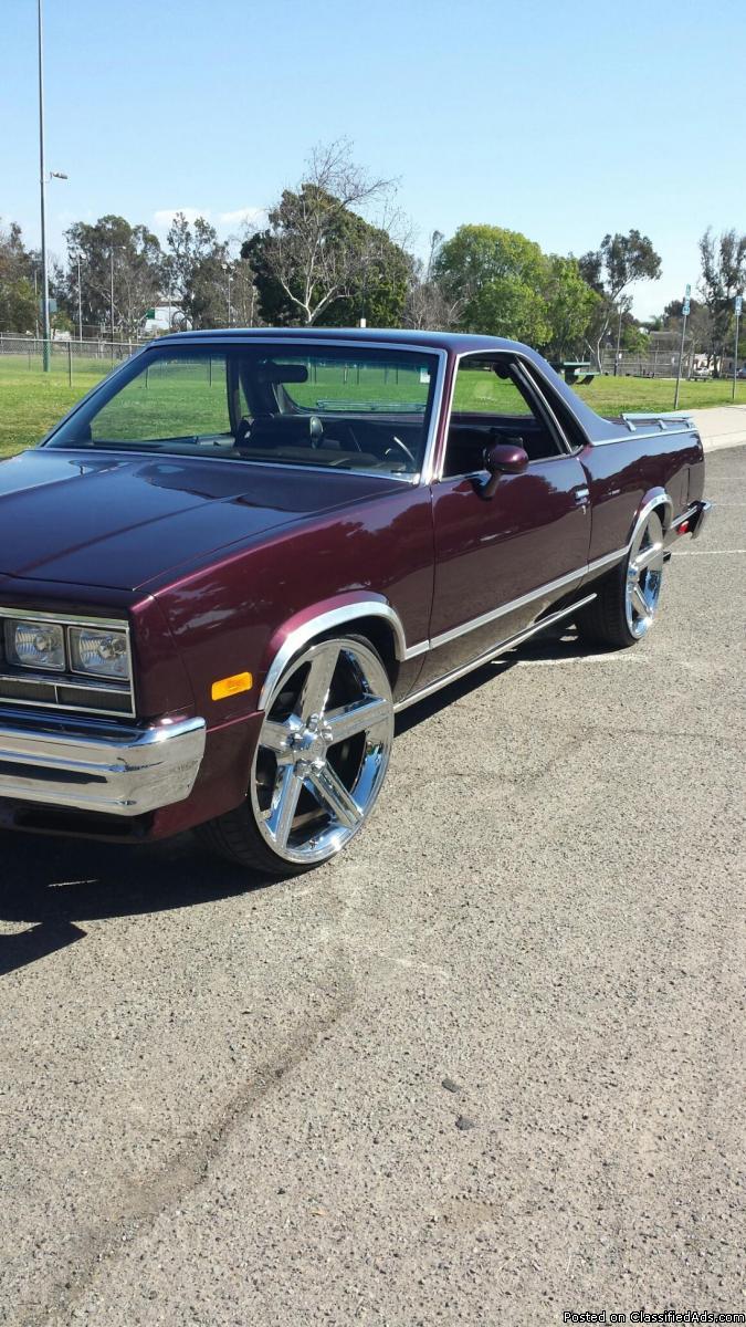 1985 Chevy El Camino Cars For Sale