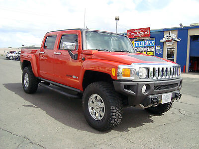 Hummer : H3T Alpha Crew Cab Pickup 4-Door Orange 2010 Hummer H3T Alpha - SUPER RARE!!