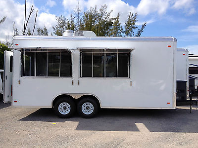 2014 - 8.6' x 20' Food Concession Trailer