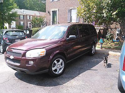 Chevrolet : Uplander LT Mini Passenger Van 4-Door Up for sale is a great Chevrolet Uplander 2008. 166,907 Miles. Great Condition