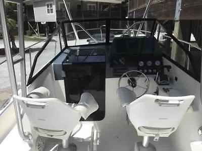 1998 Bayliner Trophy 2509 WA Cuddy Offshore W/ twin 150hp Offshore Mercury's