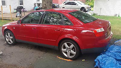 Audi : A4 Luxury Sedan 4-Door 2003 audi a 4 1.8 t 5 spd project