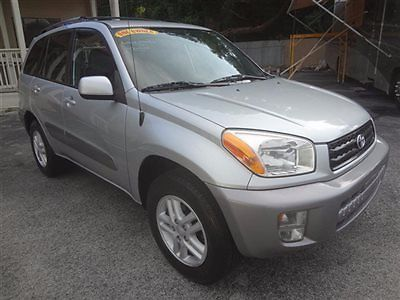 Toyota : RAV4 4dr Automatic 2001 rav 4 suv 1 owner low miles leather runs looks great certified warranty