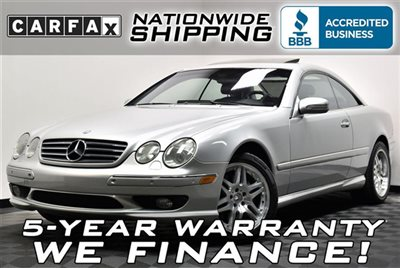 Mercedes-Benz : CL-Class CL500 AMG Loaded Low Miles Sport Pkg Nationwide Shipping 5 Year Warranty Comfort Leather