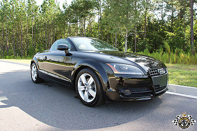 Audi : TT 2.0 TURBO PREMIUIM ROADSTER FLORIDA AUDI TT CONVERTIBLE TURBO FLORIDA EXCEPTIONAL NO ACCIDENT CLEAN CARFAX