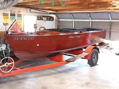 1955 Wood Chris Craft 16' Cavalier Inboard