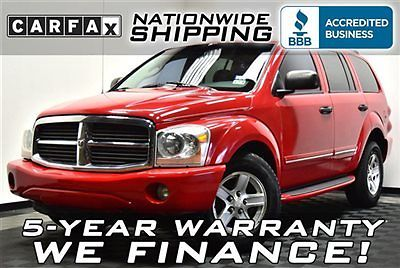 Dodge : Durango Limited Hemi Limited 3rd Row DVD Nationwide Shipping 5 Year Warranty Leather Sunroof
