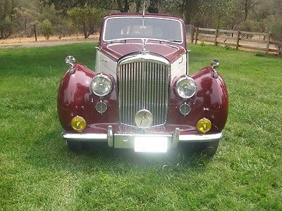 Bentley : Other Contenental Mark VI 1951 bentley mark vi continental very low original miles only 180 made very rare